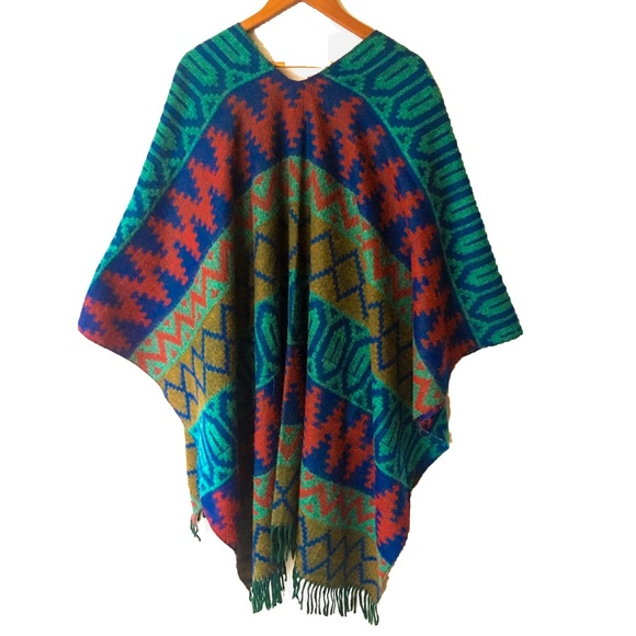 Reversible Southwest Shawl